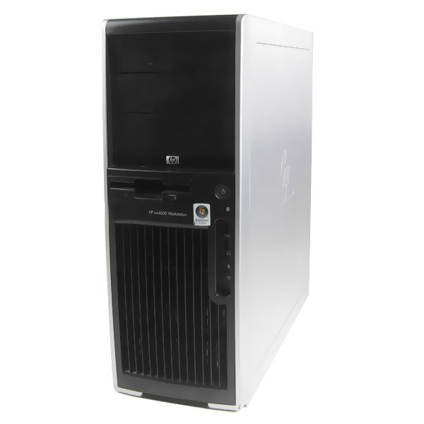 Refurbished: HP xw4600 Workstation Computer - 3.0GHz Core2 Duo, 4GB Memory, Windows 7 Professional (1 Year Warranty) - OEM