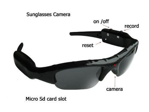 Flylink SC41 Mini DV DVR Hidden Video Camera Recorder Spy Sunglasses