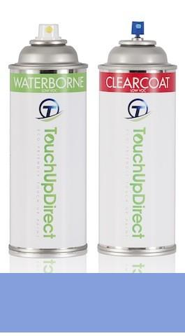 2012 Ford Econoline Automotive Aerosol Spray Paint   Basic Package   Steel Blue Metallic Clearcoat UN
