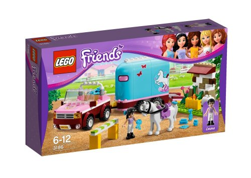 LEGO Friends Emmas Horse Trailer 3186
