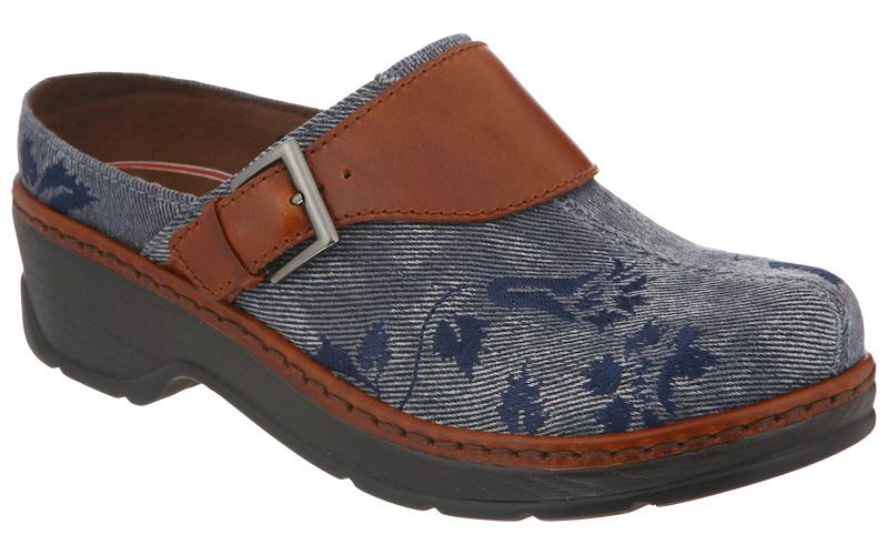 KLOGS NATALIE Clogs Women/'s Tan Leopard Print Shoes Display Model 6 M