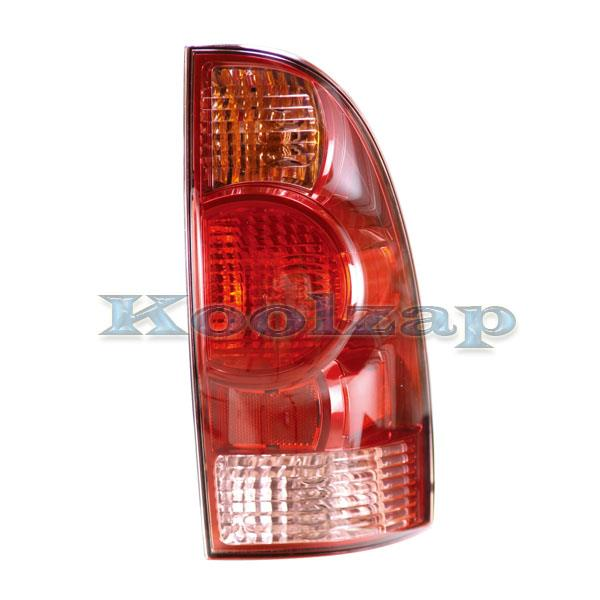 2000 2004 Toyota Tundra Pickup Truck Standard Bed (without double cab or step side bed) Taillight Taillamp Rear Brake Tail Light Lamp Left Driver Side (2000 00 2001 01 2002 02 2003 03 2004 04)
