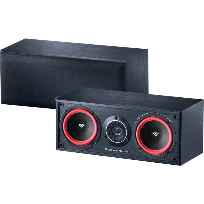 Cerwin Vega VE 5C 2 Way Home Audio Center Channel Speaker