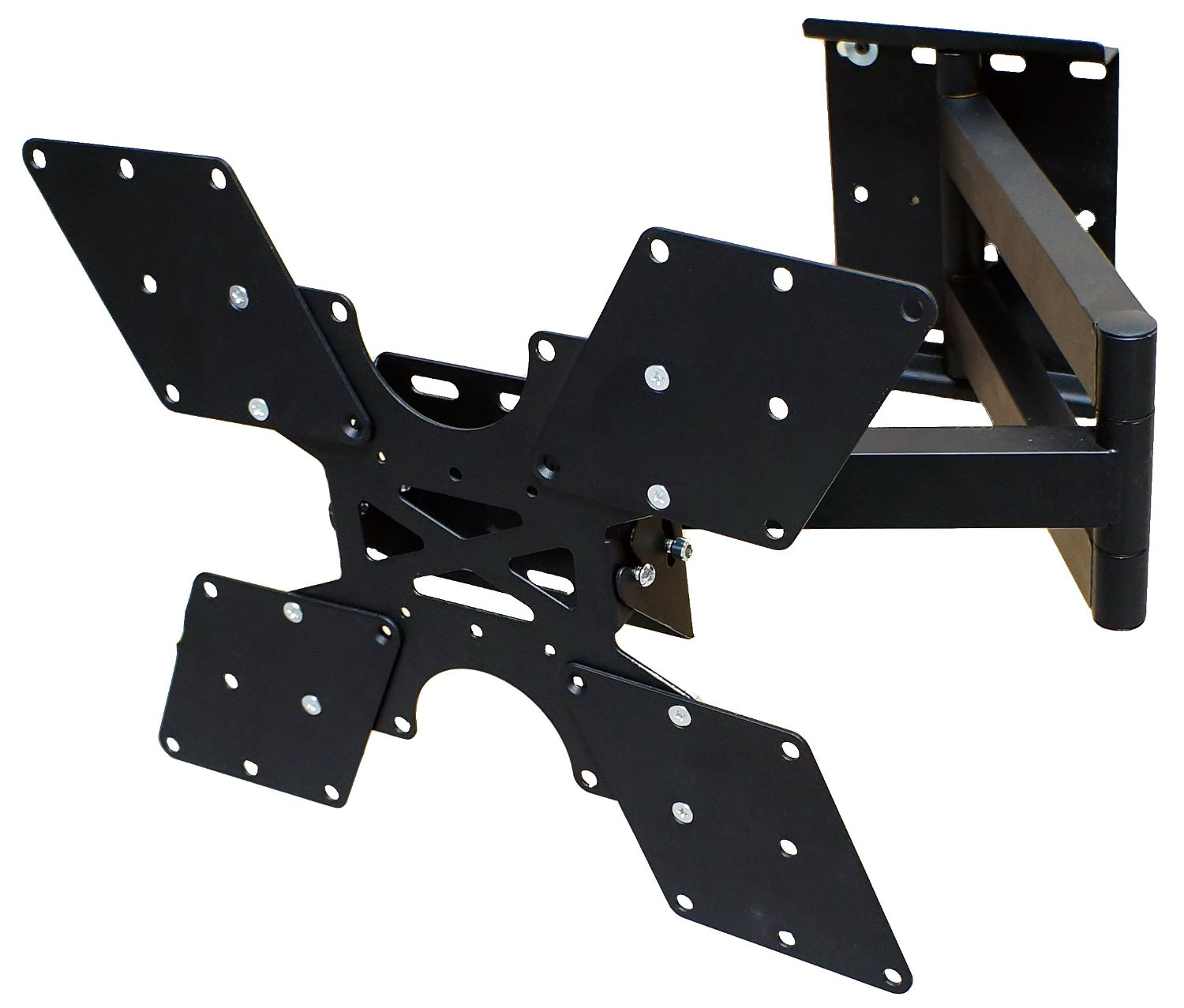 Mount it! MI 411L TV Wall Mount Bracket with Full Motion Swing Out Tilt and Swivel Articulating Arm up to 400x400 VESA (23 52 inch TV)