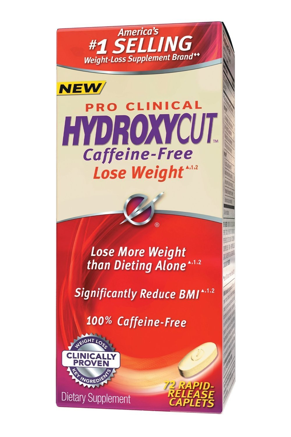 Hydroxycut Caffeine Free Advanced, 72 count