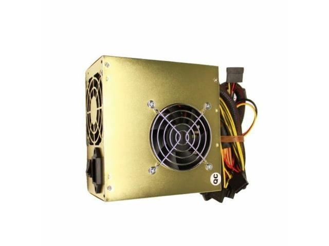 650W 650 Watt 2 Fans ATX Gold SATA PCIE Power Supply for Intel AMD PC System