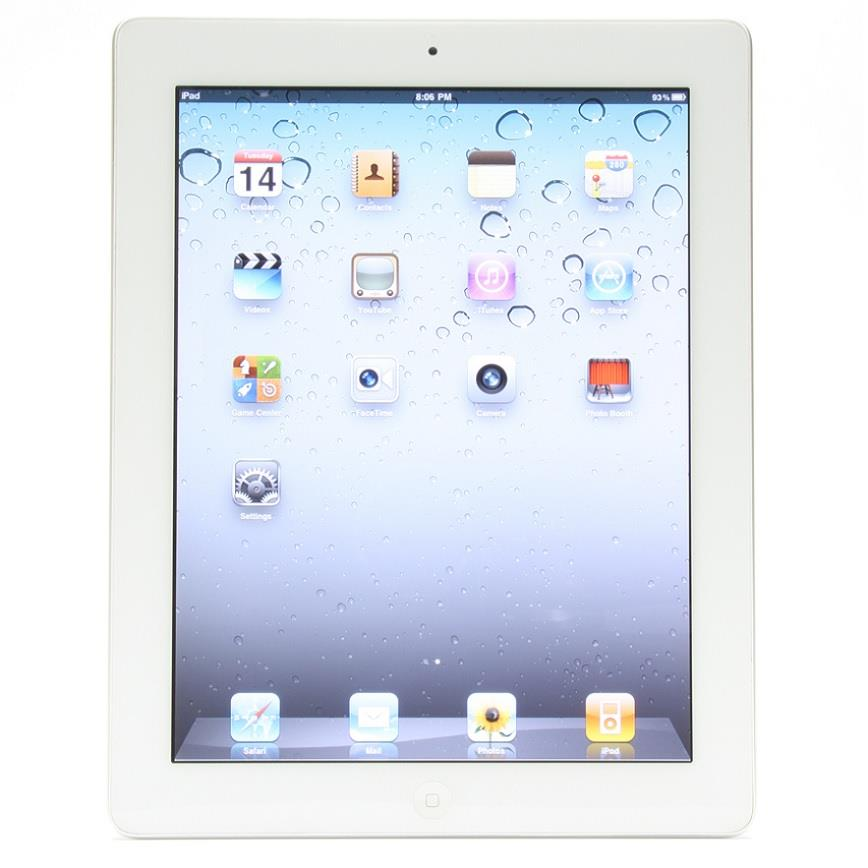 Apple iPad 2 MC989LL A Tablet 16GB