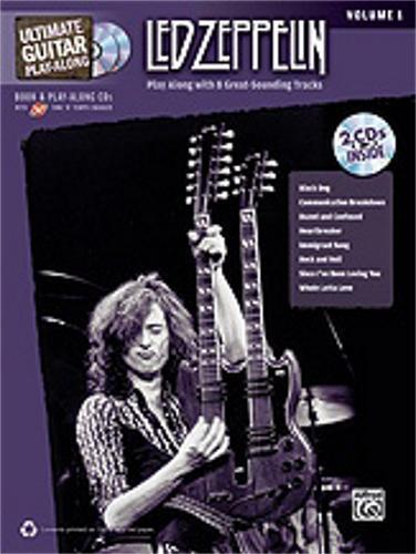 Alfred Ultimate Guitar Play Along: Led Zeppelin, Volume 1 (Book and CD)