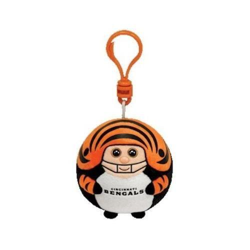 Cincinnati Bengals NFL Beanie Ballz Clip Stuffed Animal by Ty (38374 ... 44581ea05
