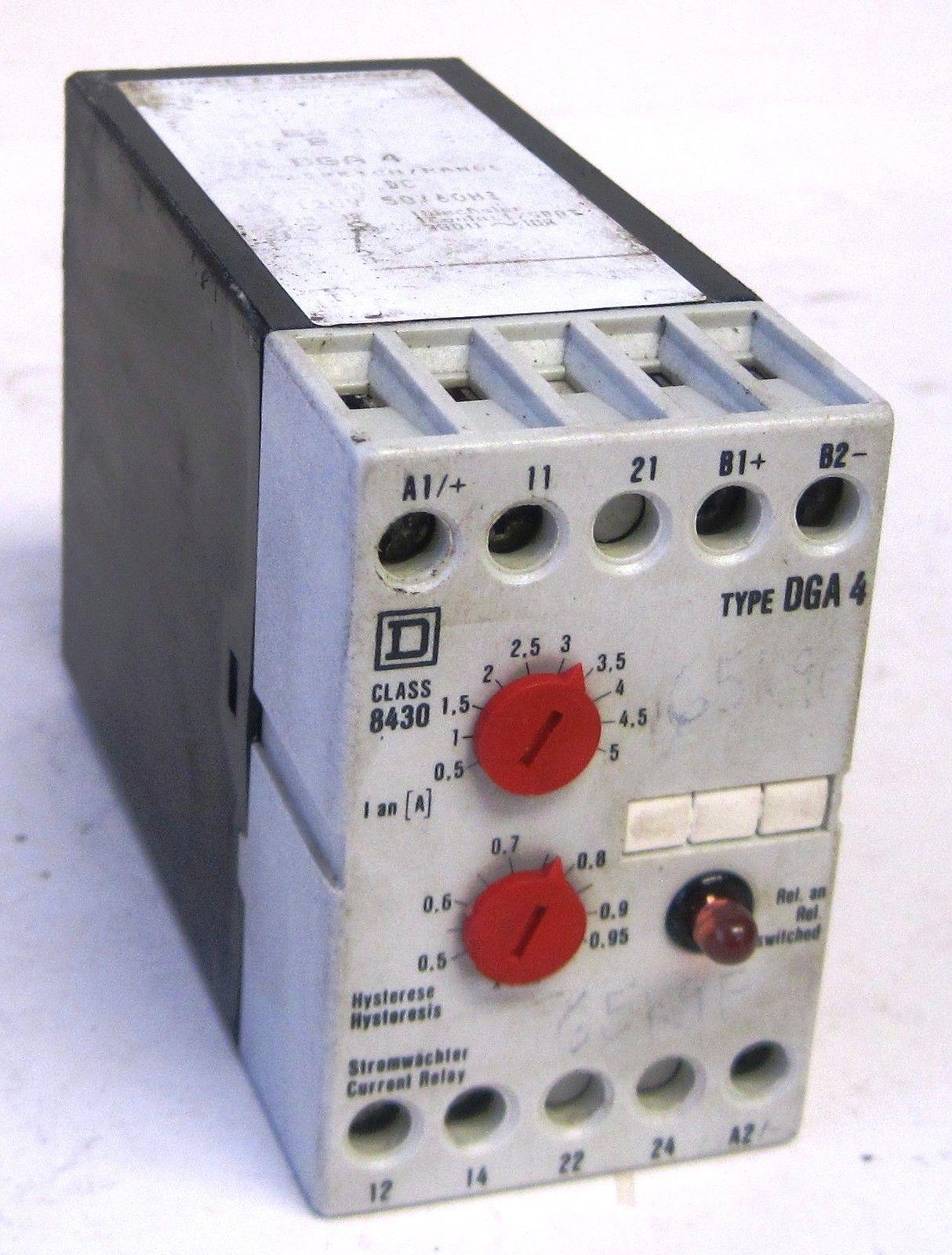 Square D 05 5a 110vac Dependent Current Relay 8430 Dga4 On Popscreen Sensing Hawkeye