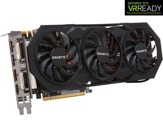 GIGABYTE GeForce GTX 970 4GB WINDFORCE 3X OC EDITION