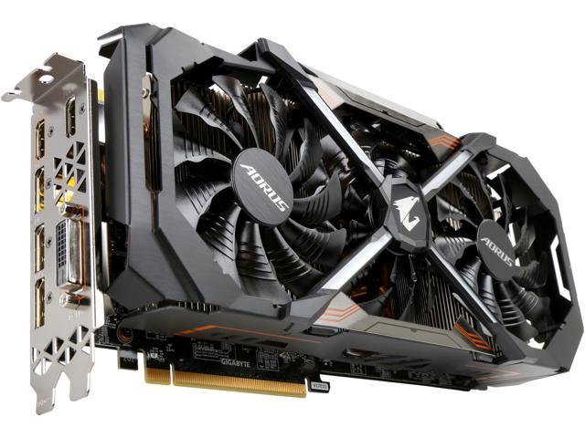 GIGABYTE Aorus GeForce GTX 1080 Ti DirectX 12 GV-N108TAORUS X-11GD 11GB GDDR5X ATX Xtreme Edition Video Card