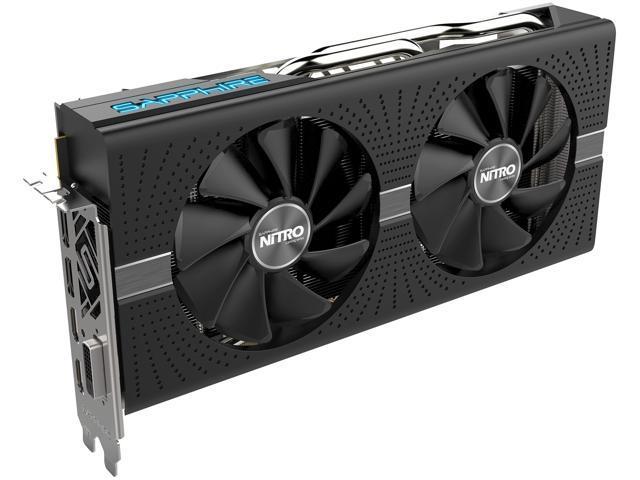 Sapphire Radeon NITRO+ RX 580 8GB GDDR5 PCI-E Dual HDMI / DVI-D / Dual DP  w/ Backplate (UEFI), 100411NT+8GL - Newegg com