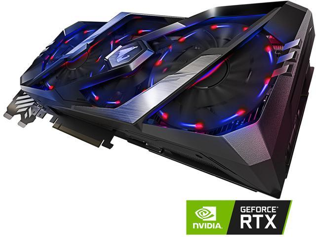 GIGABYTE AORUS GeForce RTX 2070 XTREME 8G Graphics Card, 3 x Stacked  WINDFORCE Fans, 8GB 256-Bit GDDR6, GV-N2070AORUS X-8GC Video Card -  Newegg com
