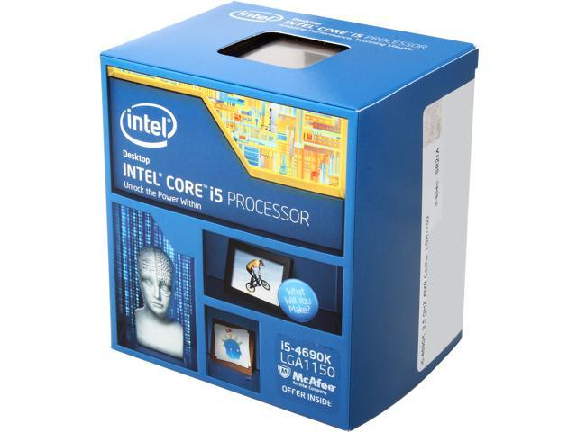 Intel Core i5-4690K Haswell Quad-Core 3.5GHz LGA 1150 Desktop Processor BX80646I54690K