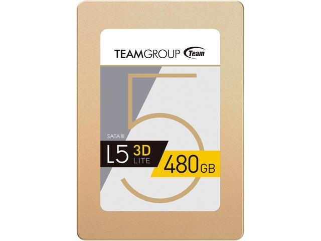 Team Group L5 LITE 3D 480GB SATA III 3D NAND 2.5 inch Internal Solid State Drive