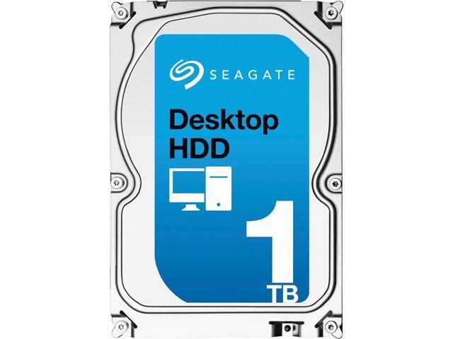Seagate Desktop HDD ST1000DM003 1TB 64MB Cache SATA 6.0Gb/s 3.5 inch Internal Hard Drive Bare Drive