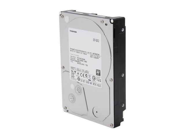 TOSHIBA DT01ACA200 2TB 7200 RPM 64MB Cache SATA 6.0Gb/s 3.5