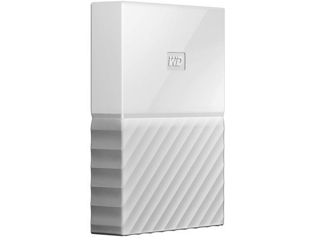 WD 2TB My Passport Portable Hard Drive USB 3.0 Model WDBYFT0020BWT-WESN White