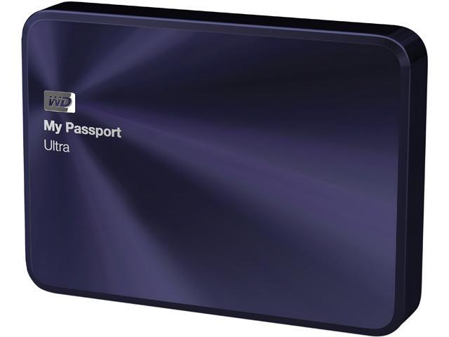WD My Passport Ultra Metal Edition 2TB USB 3.0 2.5