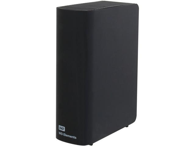 WD Elements 4TB USB 3.0 External Hard Drive WDBWLG0040HBK-NESN Black