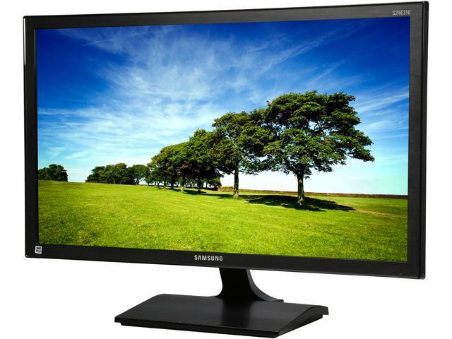 SAMSUNG S24E310HL Black 23.6 inch 8ms HDMI Widescreen LED-LCD Monitor