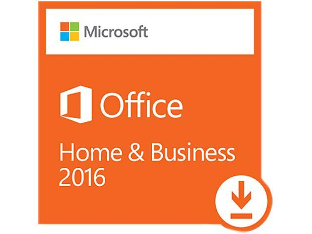 Microsoft Office Home and Business 2016 - Download - 1 PC