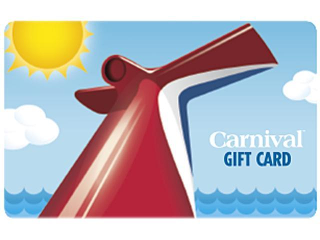 Carnival Cruise $100 Gift Card (Email Delivery)