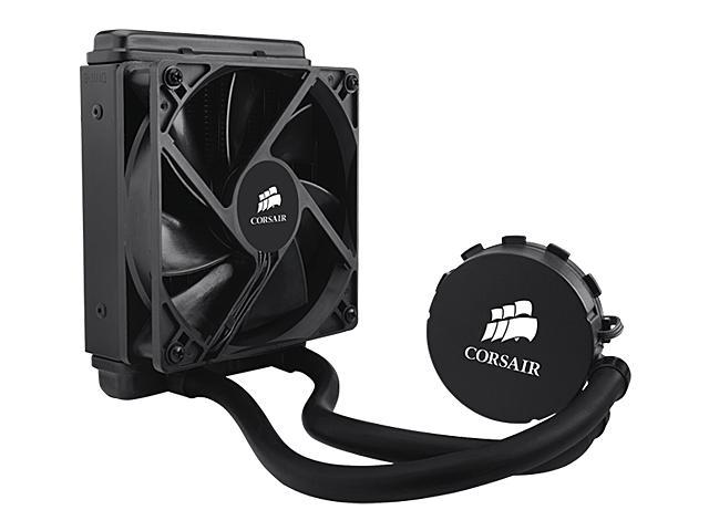CORSAIR Hydro Series H50 120mm Quiet Edition Liquid CPU Cooler - Intel Only (CW-9060006-WW)