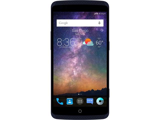 Axon Pro Unlocked Smart Phone (5.5 inch, 32GB Storage, 4GB RAM, Blue) North America Warranty