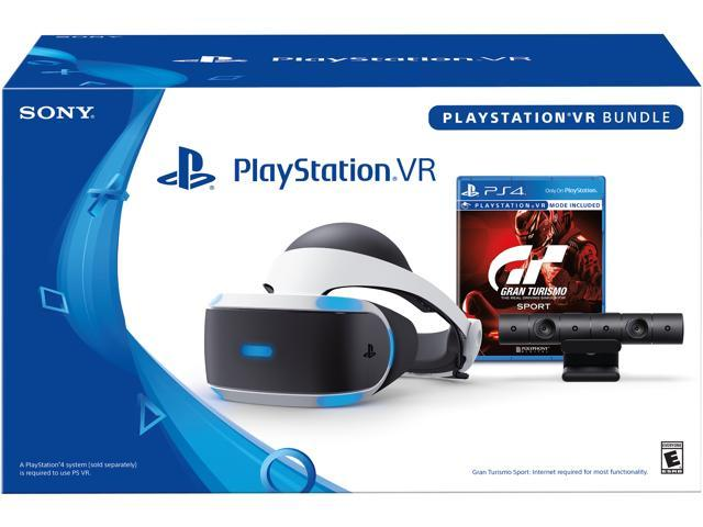 PlayStation VR - GranTurismo Sport Bundle - Newegg com