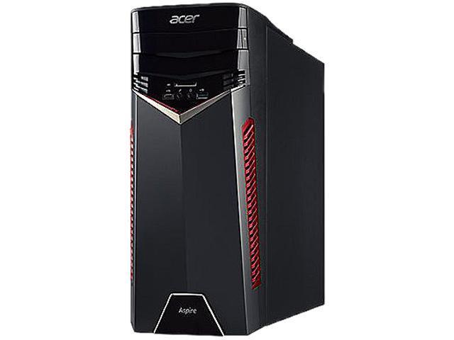Acer Desktop Computer Aspire GX GX-785-BK01 Intel Core i5 7th Gen 7400 (3.00 GHz) 8 GB DDR4 2 TB HDD AMD Radeon RX 480 Windows 10 Home 64-Bit