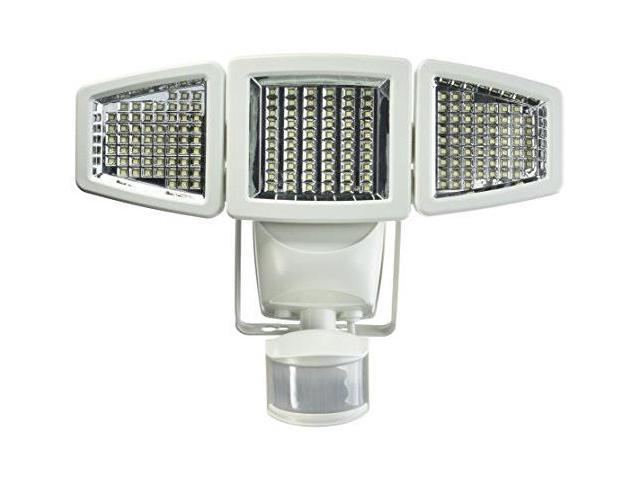 Sunforce 180 LED Triple Head Solar Powered Motion Activated 1200 Lumens Flood Light