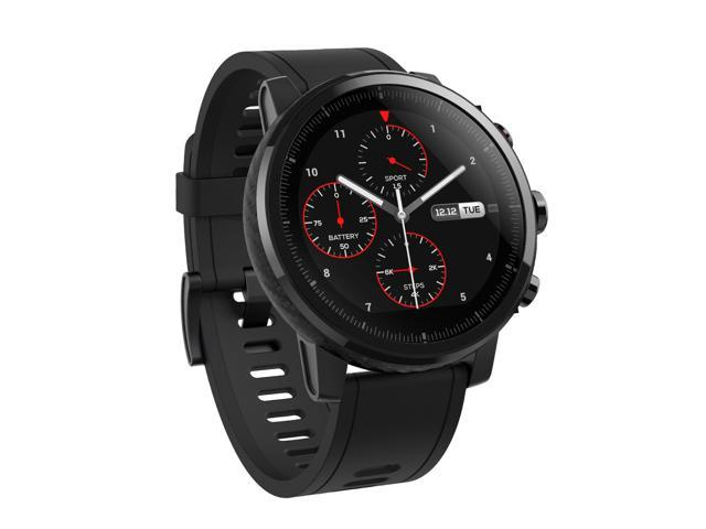 Amazfit Stratos Multisport Smartwatch w/ Heart Rate and Activity Tracking, GPS, 5 ATM Water Resistance