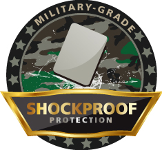Military-Grade Shockproof Protection