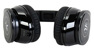 the picture of the headphones