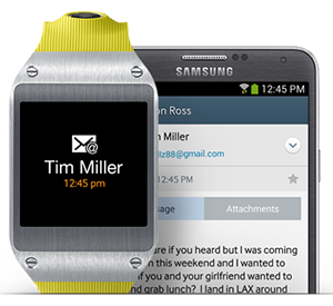 Samsung Galaxy Gear - Full phone specifications