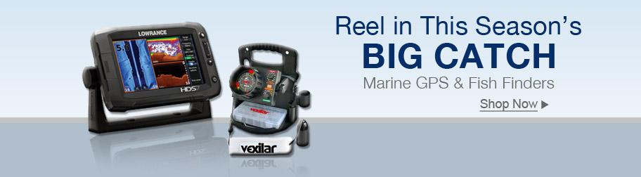 Marine GPS and Fish Finders Sale
