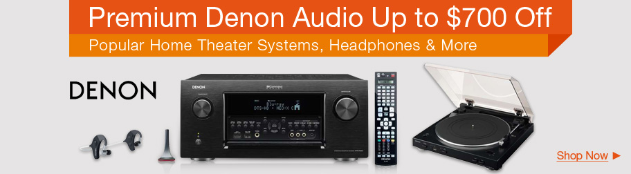 Premium Denon Audio