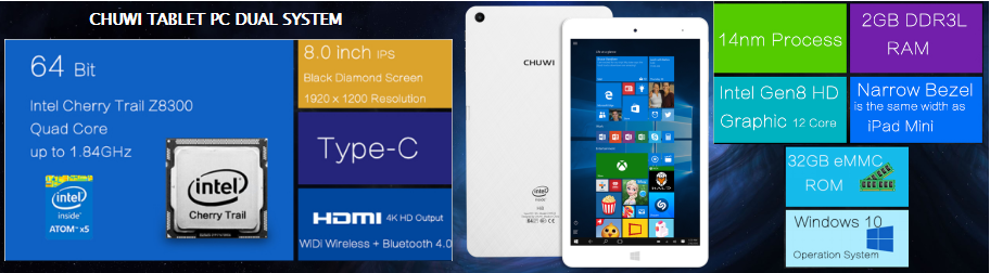 CHUWI TABLET PC NEW MODEL