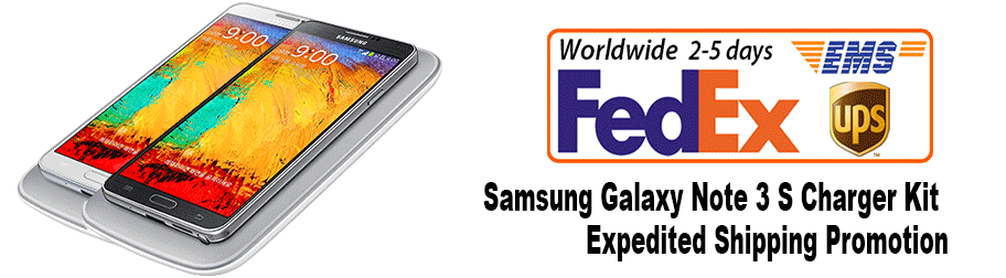 Note 3 S Charger Kit_FedEx Shipping Promotion