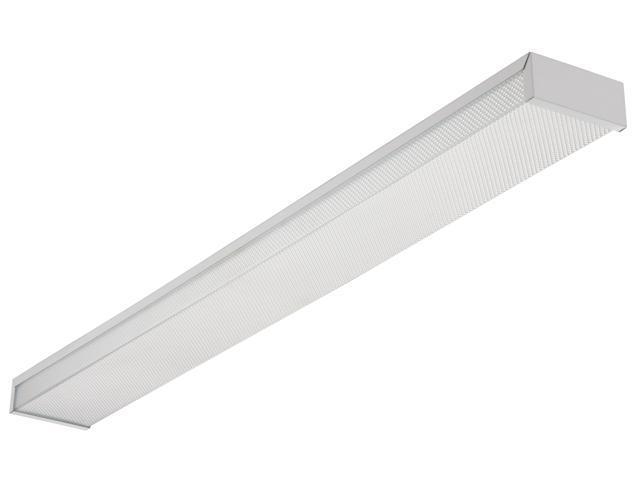 Lithonia Lighting White 4' White 2 Bulb T8 Fluorescent Ceiling Fixture