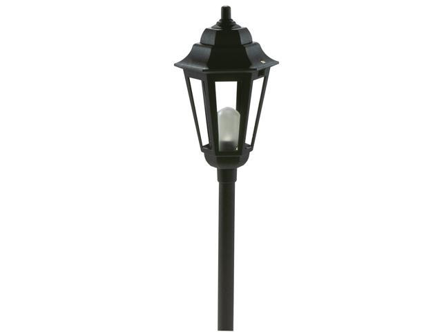 Northern International Black 12 Volt Black Savannah Style Path Light
