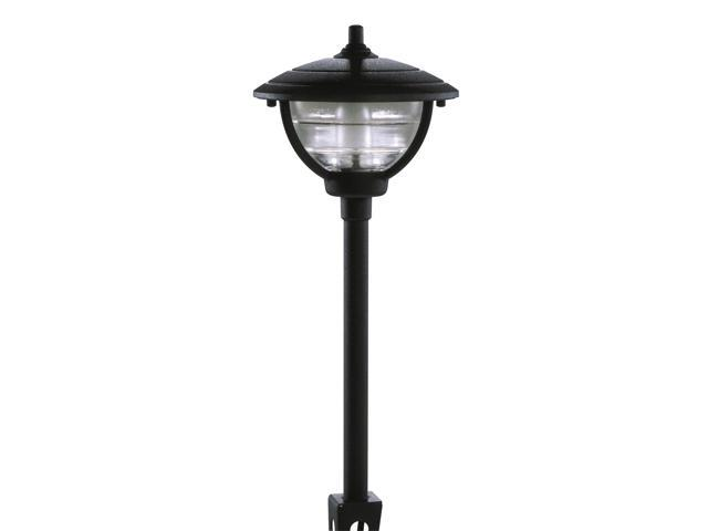 Northern International Black 12 Volt Black Palm Series Path Light