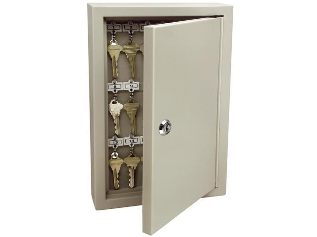 GE Security 001801 Heavy Duty Key Cabinet With Key Lock