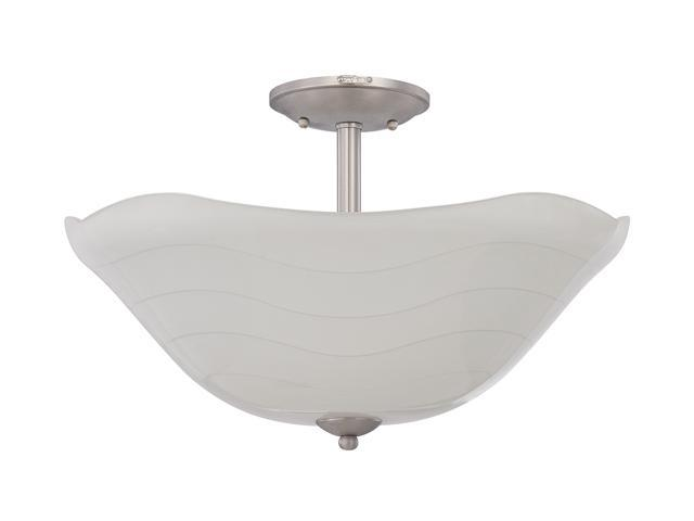 Quoizel White Extra Large Semi Flush Mount