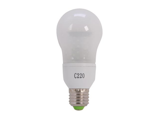 MiracleLED 605065 60 Watt Equivalent Frosted Cool White LED Light Bulb
