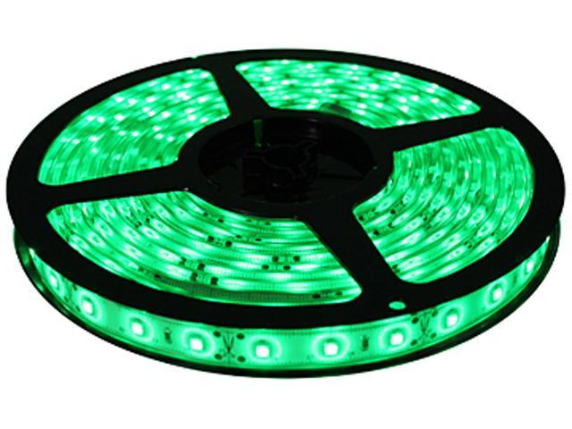 Hitlights Flexible SMD 3528 LED Strip Light only/ Green Color/ 300 LEDs/ 16/4 Ft(5 Meters)/ IP-30/ Indoor (no power supply included)