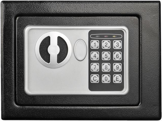 Stalwart 65-E17-B Electronic Deluxe Digital Steel Safe Black