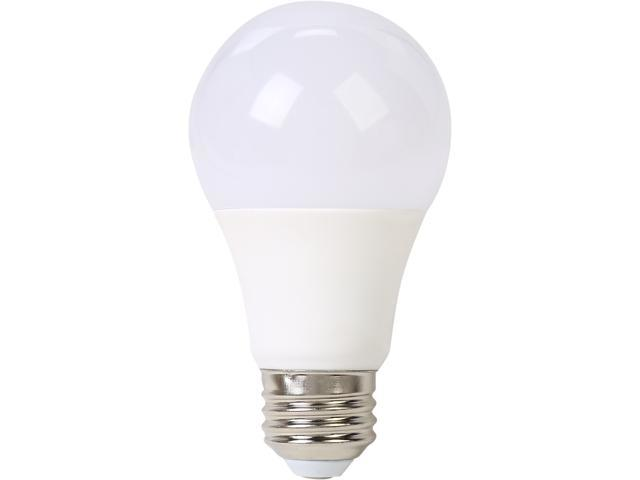 SunSun Lighting A19 60w Replacement LED light Bulbs, E26, 800 Lumen, Non-Dimmable, 240 Angle, 3000k, Soft White, UL Listed, Single Pack